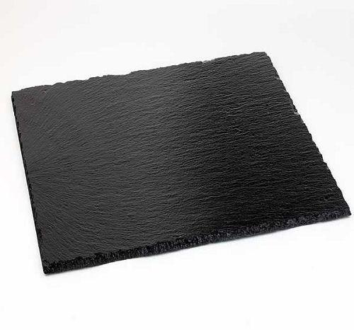 Naturschieferplatte, quadratisch 15x15 cm