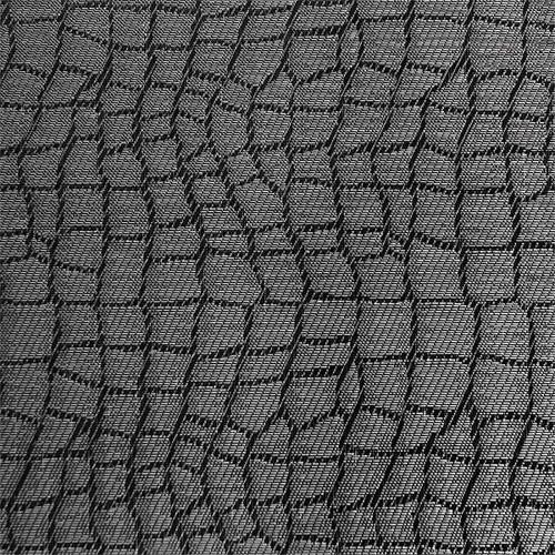 Tischset Mosaik scharz/grau, 45x33 cm, PVC Feinband