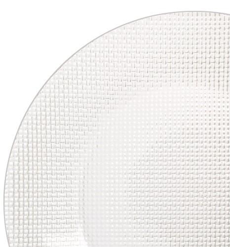 Inca Platzteller 31 cm, transparent