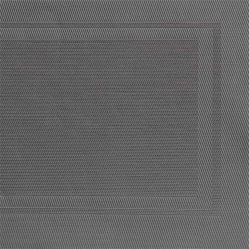 Tischset Feinband FRAMES grau, 45x33 cm
