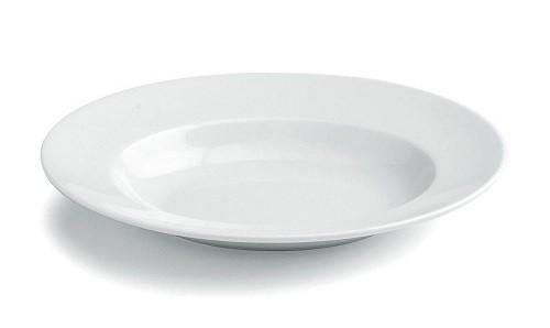 Pastateller Olivia 32x26 cm oval, weiß