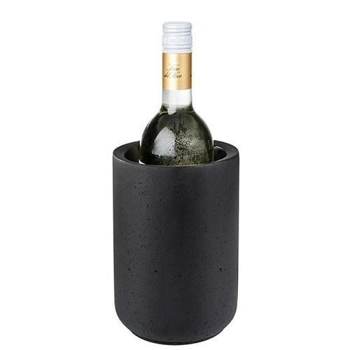 Flaschenkühler -ELEMENT BLACK- 19 cm H
