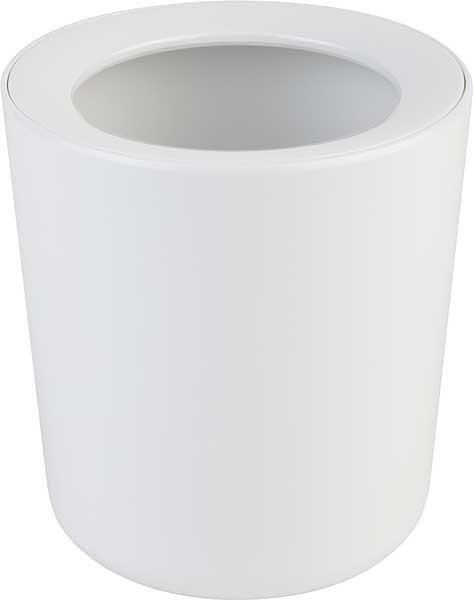 Tischrestebehälter melamin weiß D.13 cm