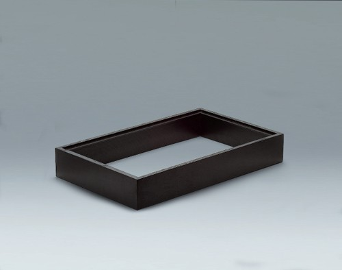 Scenario Presenter 53x32 cm, Holz schwarzbraun
