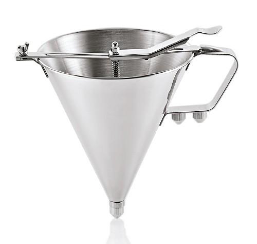 Fondant-/Likörtrichter CNS, Durchm. 18 cm, H 21 cm
