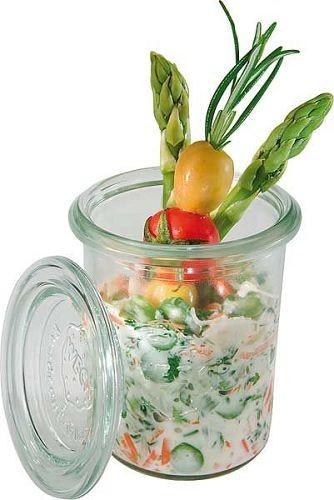 Weck Mini-Sturzglas mit Deckel 160 ml, 12er Pack