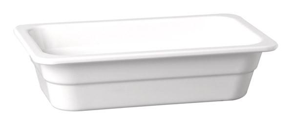"Melamin GN-Behälter ""Highline"" 2/4-65 mm, weiß 3 l"