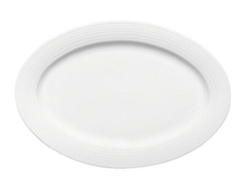 Dialog Platte oval Fahne 32 cm