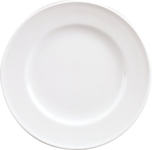 98/weiß Teller flach Fahne B 26 cm
