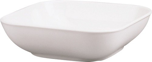 98/weiß Salat eckig 21 cm