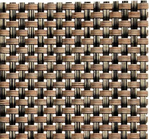 Tischset Beige / Braun, 45x33 cm, PVC Schmalband