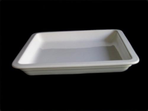 Porzellan GN-Schale 2/3-40 mm, weiß