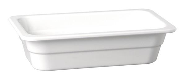 "Melamin GN-Behälter ""Highline"" 1/4-65 mm, weiß 1,35 l"