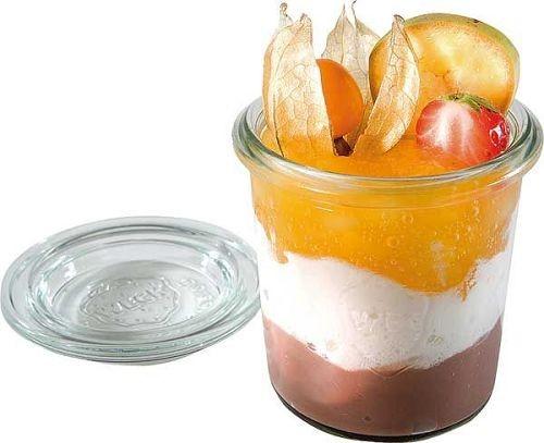 Weck Mini-Sturzglas mit Deckel 140 ml, 12er Pack