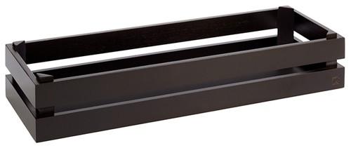 Superbox GN 2/4 schwarz, 55,5x18,5x10,5 cm