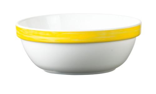 Brush gelb, Salatschale 12 cm stapelbar