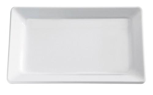 "Melamin Tablett ""Pure"" weiß, 30x21 cm"