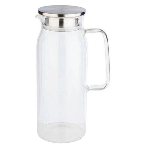 Glaskaraffe Ø 10 cm, H: 26 cm, 1,5 Liter