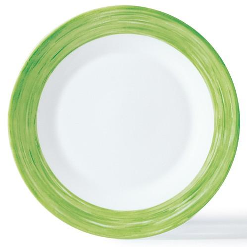 Brush grün, Teller 15,5 cm