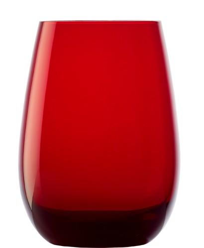 ELEMENTS Becher 465 ml. rot