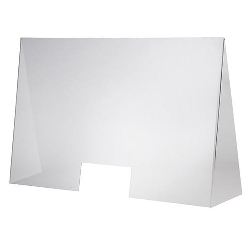 Hygieneschutzwand 98 x 28 cm H 65 cm
