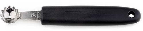 Entstieler/Entkerner 2,2 cm, Länge 21 cm, Edelstahl m. geschärftem Rand