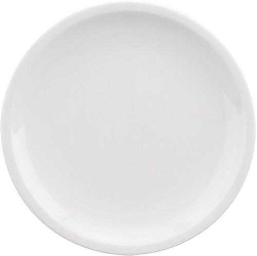 598/weiß Teller flach, C. 19 cm