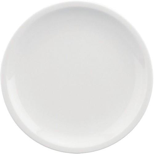 598/weiß Teller flach, C. 17 cm