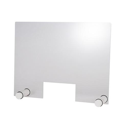 """Hygieneschutzwand """"ROUND WHITE"""" 75 cm H 57 cm"""