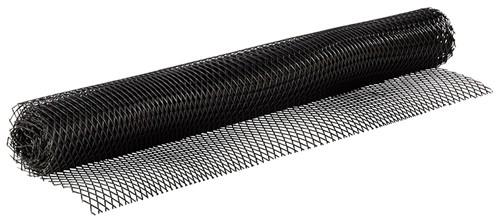 Gläser-Abstellmatte, fexibel, 60x300 cm, schwarz