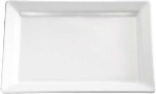 "Tablett ""PURE"" 35,5 x 18 cm, H: 3 cm Melamin, weiß"
