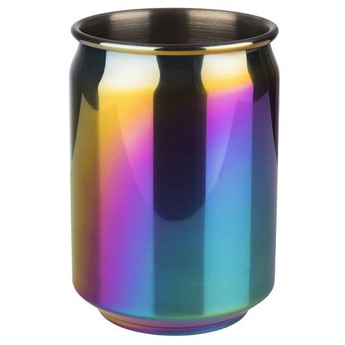 Becher -COOL- 18/8 Regenbogen-Look