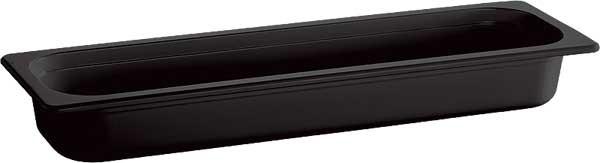 "Melamin GN-Behälter ""Ecoline"" 2/4-65 mm, schwarz 3 l"