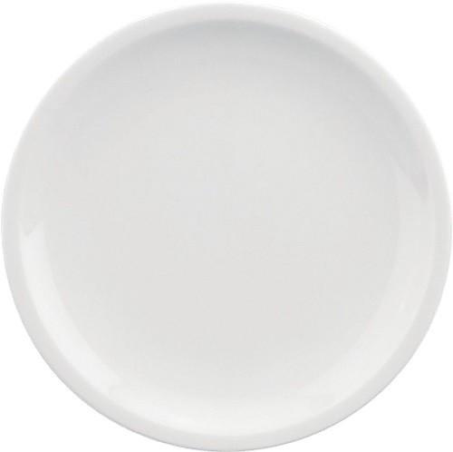 598/weiß Teller flach, C. 26 cm