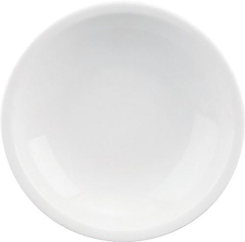 598/weiß Teller tief, C. 21 cm