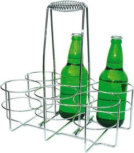 Flaschenträger für 6 Flaschen, Ring Ø 9,5 cm