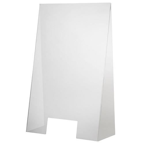 Hygieneschutzwand 60 x 28 cm H 98 cm