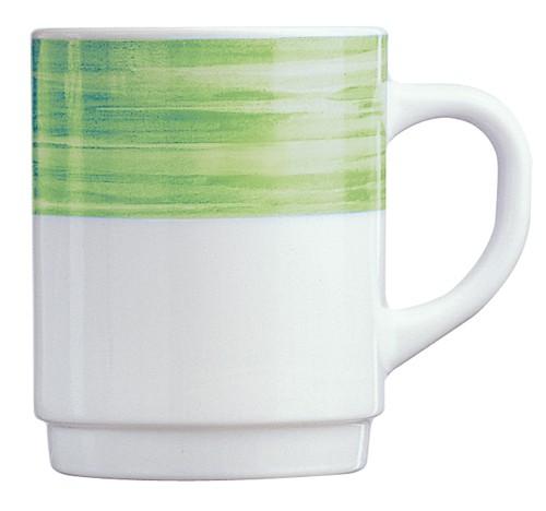 Brush grün, Becher 25 cl