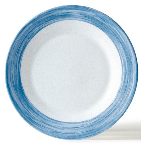 Brush Blue Jean, Teller tief 22,5 cm