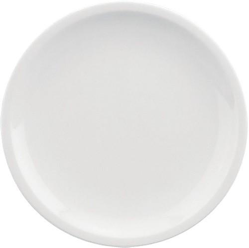 598/weiß Teller flach, C. 15 cm