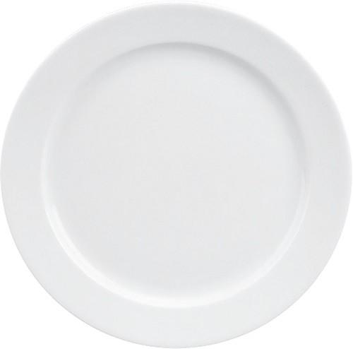 898/weiß Teller flach Fahne 21 cm