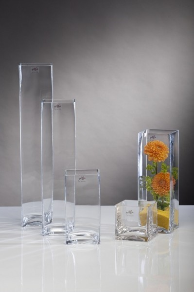 SQUARE Vase 20 cm