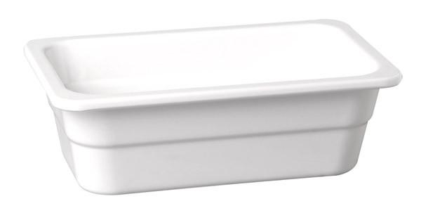 "Melamin GN-Behälter ""Highline"" 1/2-100 mm, weiß 5,5 l"