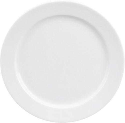 898/weiß Teller flach Fahne 19 cm