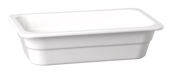 "Melamin GN-Behälter ""Highline"" 1/3-65 mm, weiß 2 l"