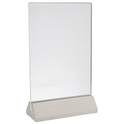 Kartenhalter -ELEMENT- 2-tlg. H:26 cm