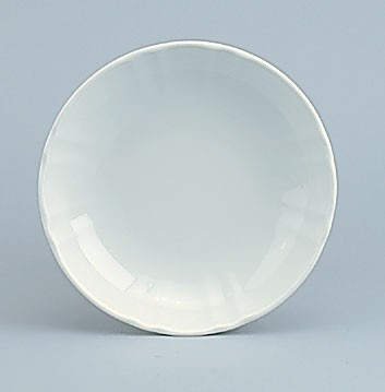 798/weiß Teller tief, C. 19 cm (A)