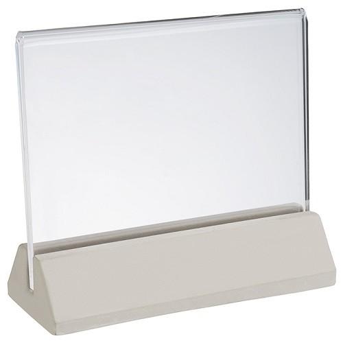 Kartenhalter -ELEMENT- 2 tlg. H:10 cm