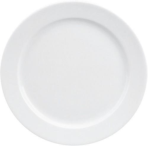 898/weiß Teller flach Fahne 15 cm