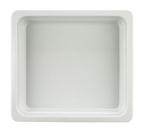 Porzellan GN-Schale 2/3-100 mm, weiß